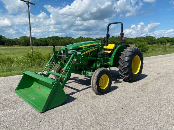 Photo 5055E John Deere Tractor with Loader - $19,950 (Severy)