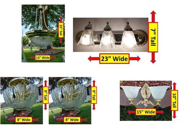 Photo 5 Light Set cost less than Just ONE Light - $50 (Mulvane)