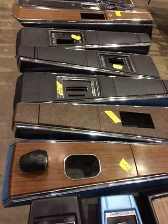 Photo 67 Camaro67-68 firebird first gen consoles - $200 (Valley center)