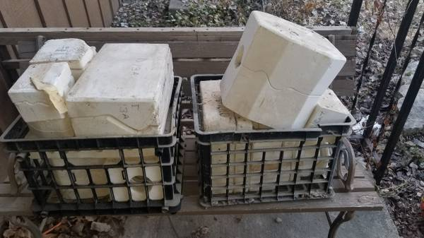Photo Ceramic molds LOT of 20 - $30 (Andover)