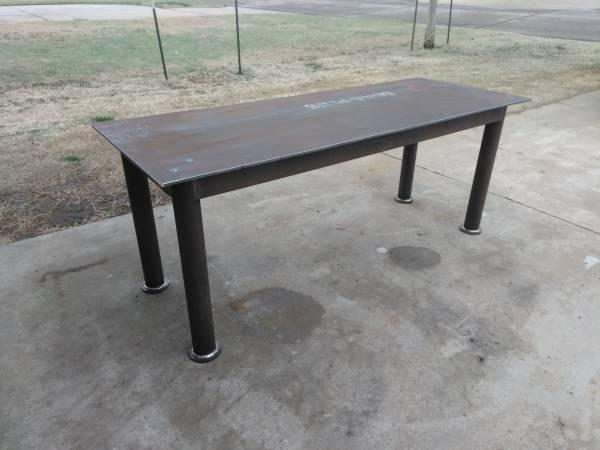 Photo Heavy Duty Welding Table - $350 (Wichita)