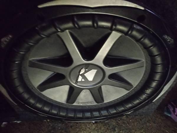 Photo Kicker cvx12s with ported box - $275 (Wichita)