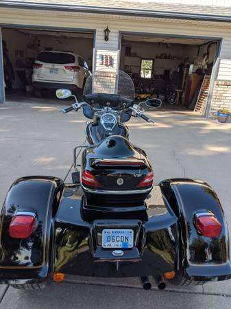 Photo Motorcycle Trike - $6,950 (El Dorado)