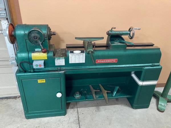 Photo Powermatic Model 90 Wood Lathe - $1,500 (Topeka)