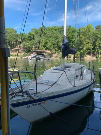 Photo Sail boat needs a new home (Grand Lake)