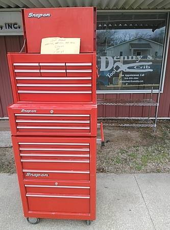 Photo Snap on, Kennedy, Craftsman Tool Boxes - $1 (Oxford, Ks)