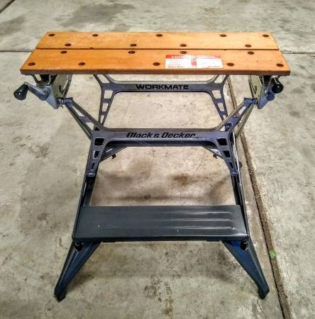 Photo Tools  Work Bench  Black and Decker Workmate Hobby Table - $90 (Wichita)