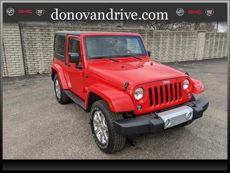 Photo Used 2015 Jeep Wrangler 4WD Sahara w Dual Top Group for sale