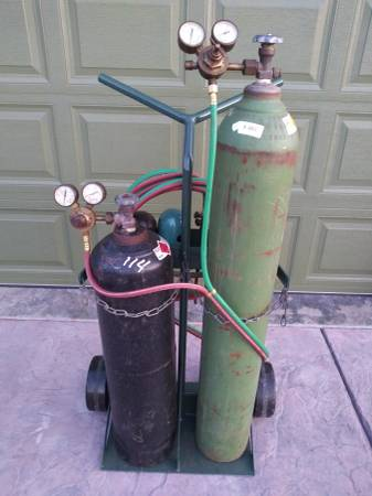Photo Victor Cutting Torch Setup - $550 (Wichita)