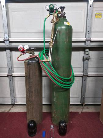 Photo Victor Cutting Torch Setup - $700 (Wichita)