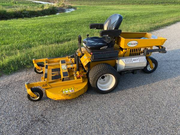 Photo Walker mower - $5,800 (Newton)