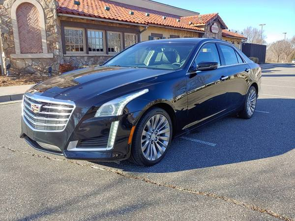 Photo 2017 CADILLAC CTS 2.0L TURBO LUXURY AWD ONLY 39,000 MILES HARD LOADED - $24988 ($471.00 A MONTH WITH ZERO CASH DOWN)