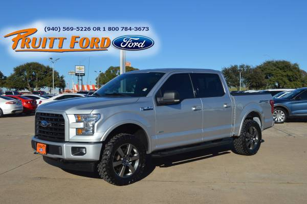 Photo 2017 Ford F150 SuperCrew Cab XLT 4X4 - $35,950 (Burkburnett)