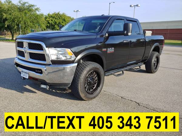 Photo 2017 RAM 2500 CREW CAB LOW MILES 6.4L HEMI 4X4 WHEELS LED LIFTED - $27,988 (GREAT FINANCING AVAILABLE)