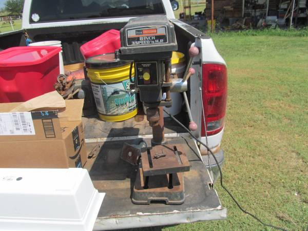 Photo Craftsman 8quot 3 Speed 16 hp Drill Press - $75 (wichita falls)