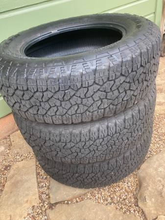 Photo GoodYear Wrangler Trail Runner AT tires - $350 (Wichita Falls)