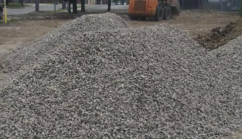 Photo Gravel, Sand, Road base, Select, Asphalt, Topsoil, Black dirt - $100 (Dallas)