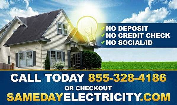 Photo NO DEPOSIT ELECTRICITY IN WICHITA FALLS CALL TODAY POWER ON FAST (WICHITA FALLS)