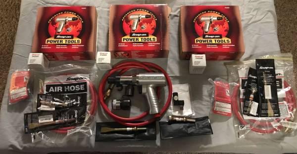 Photo Snap On air hammer sets BRAND NEW - $450 (Dallas)