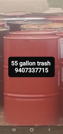 Photo Storage deer feeders 55 gallon - $10 (Wichitafalls tx)