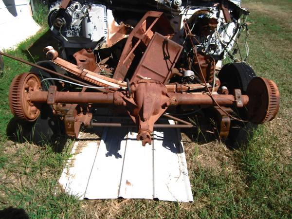 Photo chevy van rear axle and more - $75 (Iowa Park, Texas)