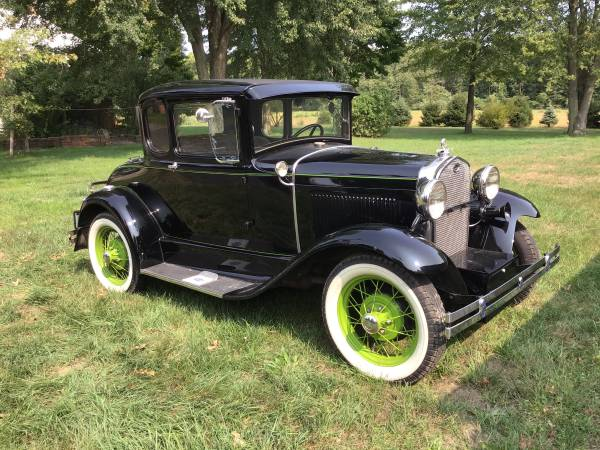 Photo 1931 Model A Ford Coupe - $16,500 (Toledo)