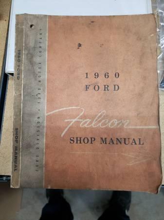 Photo 1960 ford falcon shop manual - $123,456 (Cogan Station)