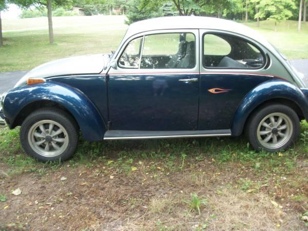 Photo 1971 VW Super Beetle - $5,250 (Liberty Twp, Montour County)
