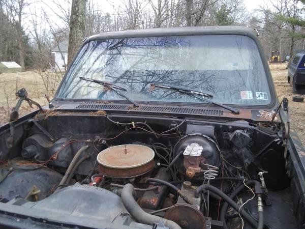 Photo 1985 chevy 34 ton truck parts - $100 (Lehighton)