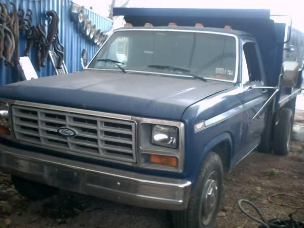 Photo 1986 Ford Dump Truck - $3,500 (New Albany)
