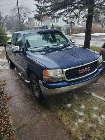 Photo 2000 GMC SIERRA 1500 EXT CAB 4WD - $2500 (Muncy)