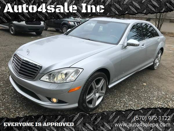 Photo 2008 Mercedes-Benz S550 S-Class, WITH ALL OPTIONS, LIKE NEW. - $12400 (WE FINANCE EVERYONE WITH LOW DOWN PAYMENT)
