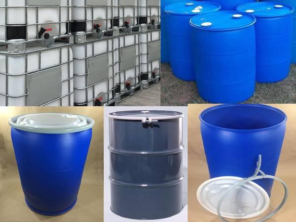 Photo 5 30 55 275 Gallon Sap Jugs Barrels Steel Metal Drums Plastic Pallets (20 minutes north of nys I 90 thruway)