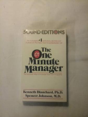 Photo Audio Book - One Minute Manger pack (cassettes) - $7 (PITTSTON)