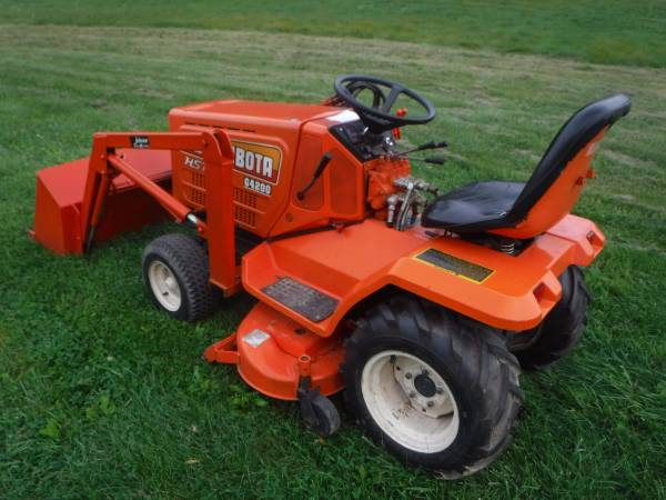Kubota G4200 Diesel Tractor With Mower Deck And Dual Hydraulic Loader 5500 Catawissa Garden Items For Sale Williamsport Pa Shoppok
