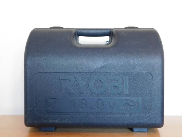 Photo Large Ryobi Hard Plastic Tool Case - $20 (mifflinburg)