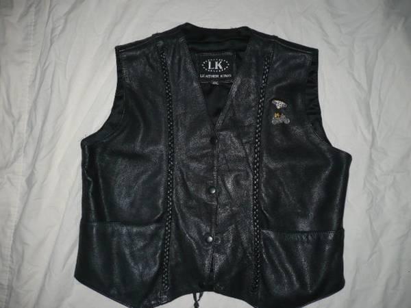 Photo Leather King Harley-Davidson Womans Vest - $40 (Muncy Pa)