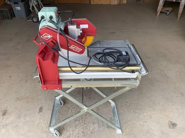 Photo MK-101 Pro Tile Saw - $1,200 (Montoursville)
