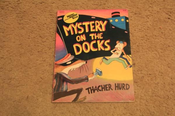 Photo Mystery on the Docks by Thacher Hurd - $3 (carlisle)