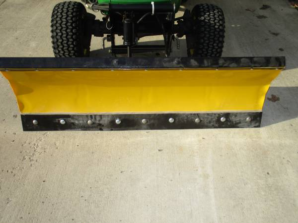 Photo REDUCED Home made 54quot plow for John Deere front quick hitches - $200 (WILLIAMSPORT)