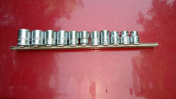 Photo Snap-on 38 drive metric sockets - $135 (linden)