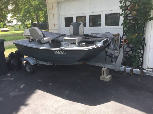 Photo Title for boat and trailer - $2,500 (Scranton)