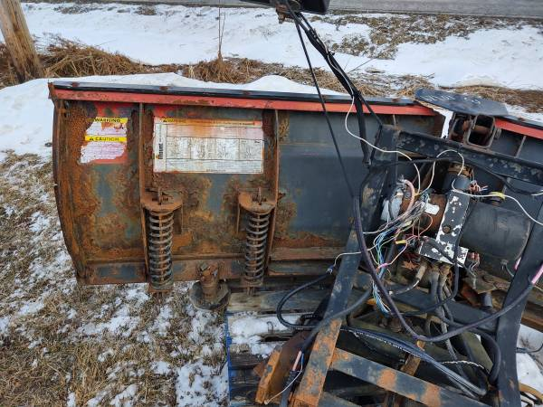 Photo Western V-Plow Snow Plow 8396quot - $800 (Mansfield PA)