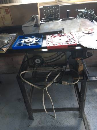 Photo 10-inch Craftsman Table Saw - $270 (Wilmington (Near UNCW))