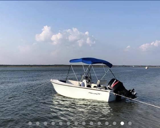Photo 1739 Proline Center Console Boat - $7,500 (carolina beach)