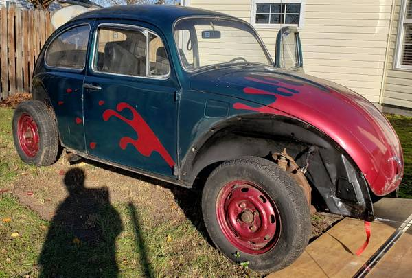 Photo 1969 VW Beetle for Restoration or Parts - $2,500 (Wilmington, NC)