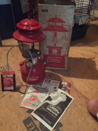 Photo 1972 Coleman Gas Lantern - $300 (Supply)
