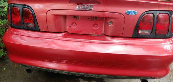 Photo 1995 Ford Mustang GT Conv - $1 (Wilmington)