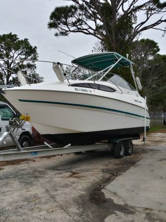 Photo 2000 BAYLINER 2439- PERFECT OVERNIGHTER-LOW HOURS-FRESH BOTTOM PAINT - $13500 (OIB)