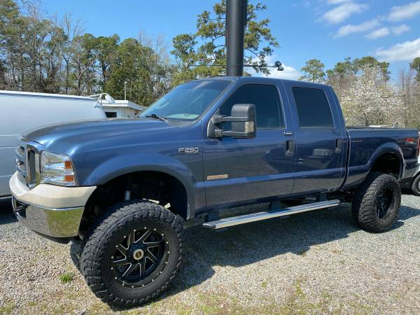 Photo 2004 FORD F250 6.0L, KING RANCH, BULLETPROOF, LIFTED, CUSTOM - $18995 (WILMINGTON NC)